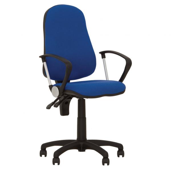 Scaun de birou OFFICE GTP, Albastru safir stofa zesta [0]