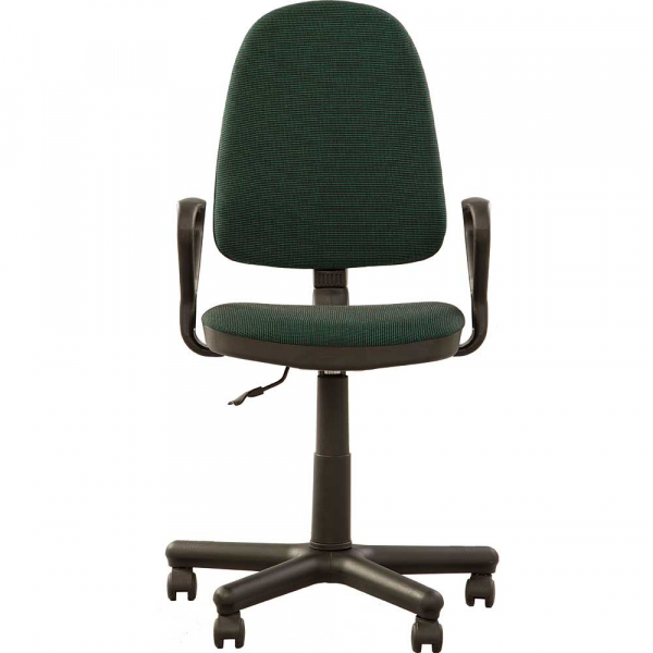 Scaun de birou PRIVILEGE GTP, Negru-verde stofa cagliari 1