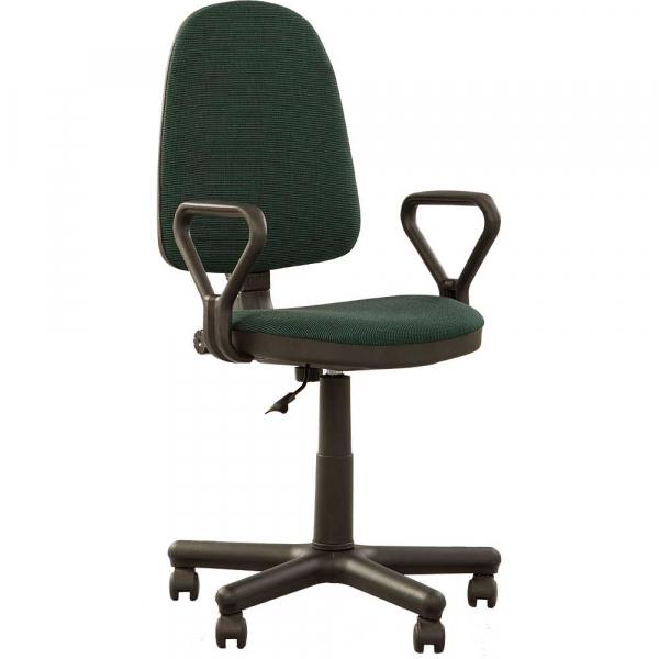 Scaun de birou PRIVILEGE GTP, Negru-verde stofa cagliari 0