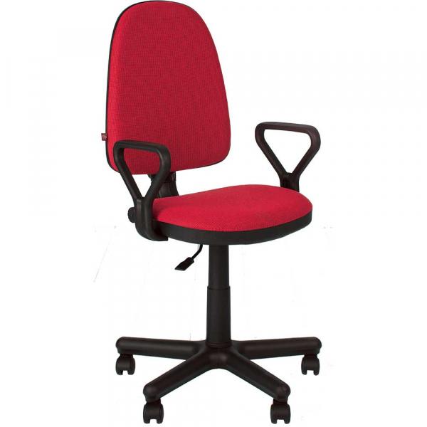 Scaun de birou PRIVILEGE GTP, Rosu-negru stofa cagliari 0