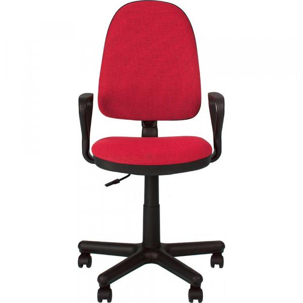Scaun de birou PRIVILEGE GTP, Rosu-negru stofa cagliari 1