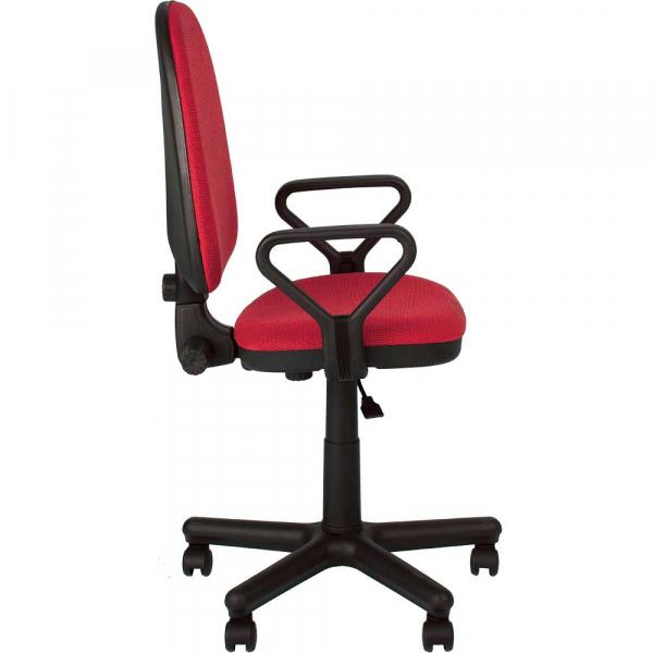 Scaun de birou PRIVILEGE GTP, Rosu-negru stofa cagliari 2