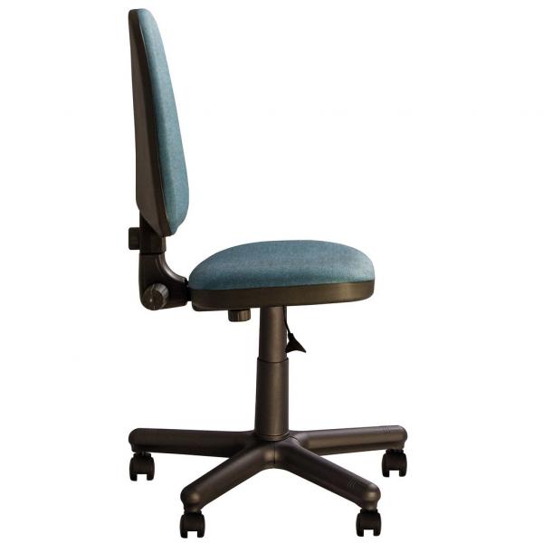 Scaun de birou PRIVILEGE GTS, Albastru canar-negru stofa cagliari 2