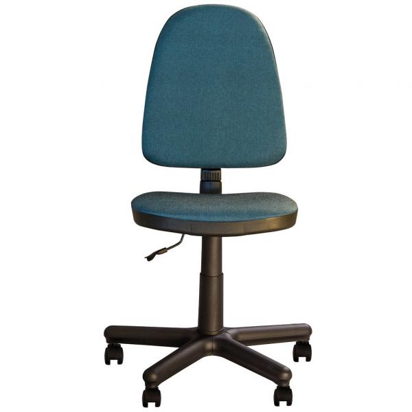 Scaun de birou PRIVILEGE GTS, Albastru canar-negru stofa cagliari [0]