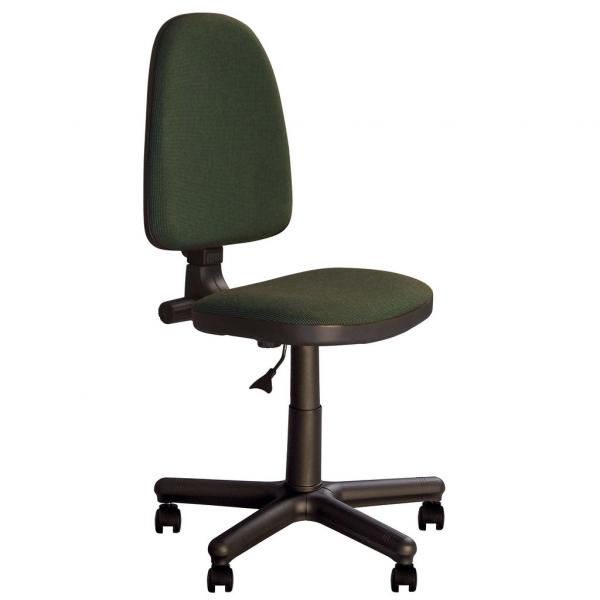Scaun de birou PRIVILEGE GTS, Negru-verde stofa cagliari [1]