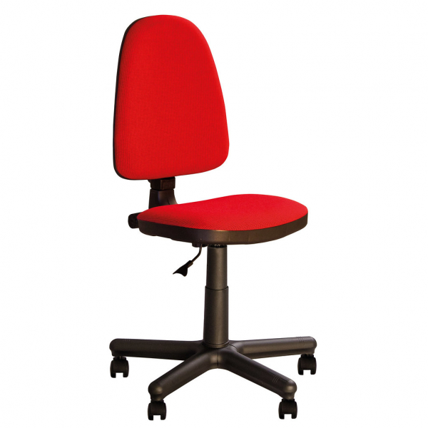 Scaun de birou PRIVILEGE GTS, Rosu-negru stofa cagliari [1]
