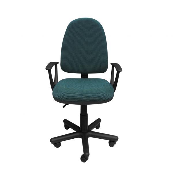 Scaun de birou PRIVILEGE II GTP, Negru-verde stofa cagliari 0