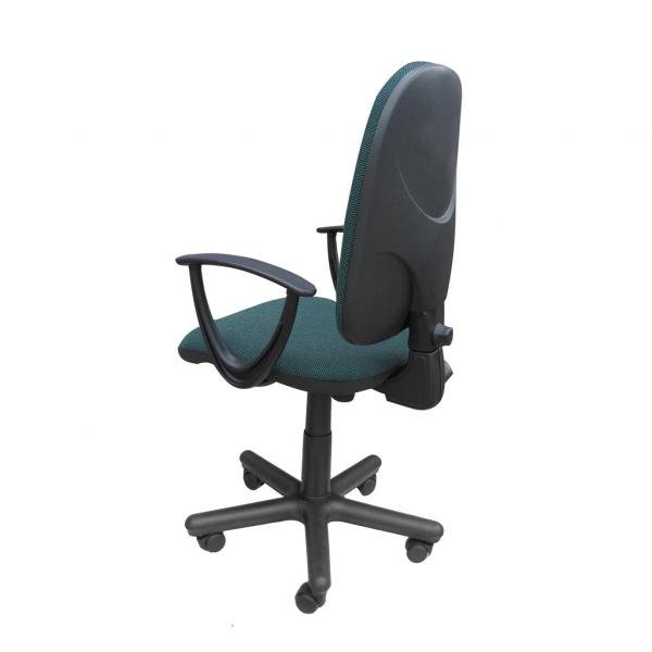 Scaun de birou PRIVILEGE II GTP, Negru-verde stofa cagliari 2