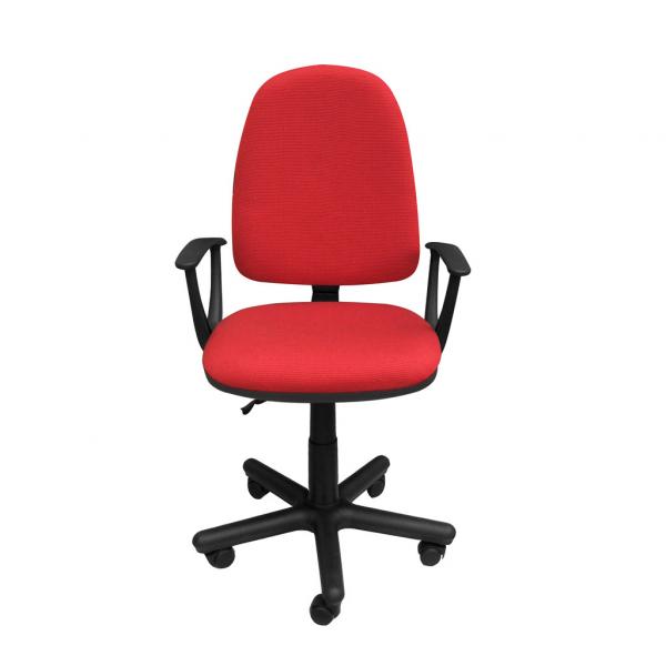Scaun de birou PRIVILEGE II GTP, Rosu-negru stofa cagliari 0