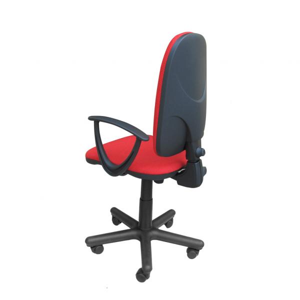 Scaun de birou PRIVILEGE II GTP, Rosu-negru stofa cagliari 2