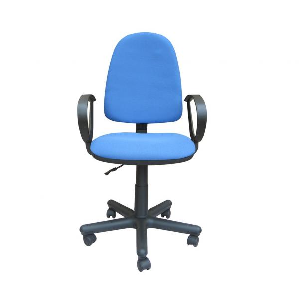 Scaun de birou SATURN GTP, Albastru deschis stofa fiji 0