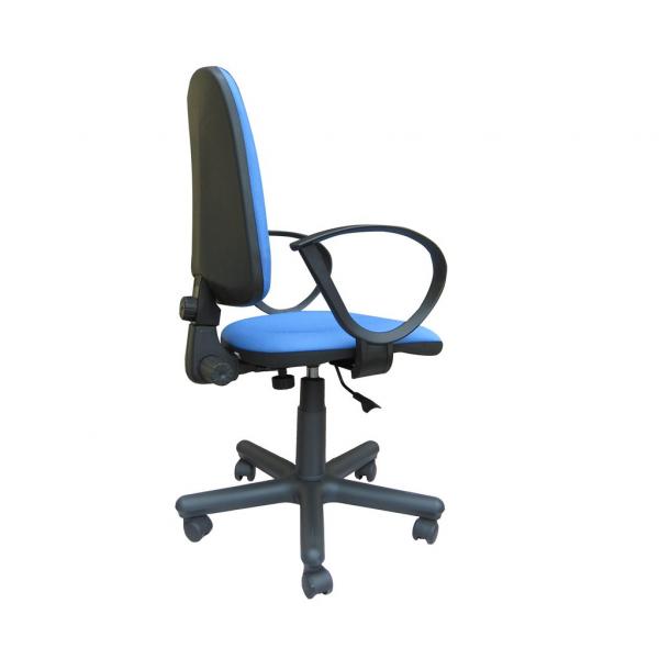 Scaun de birou SATURN GTP, Albastru deschis stofa fiji 2