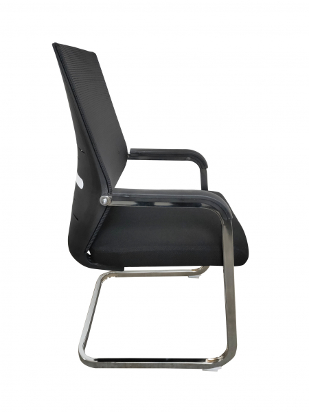 Scaun de vizitator ergonomic TORONTO CF, Negru 2