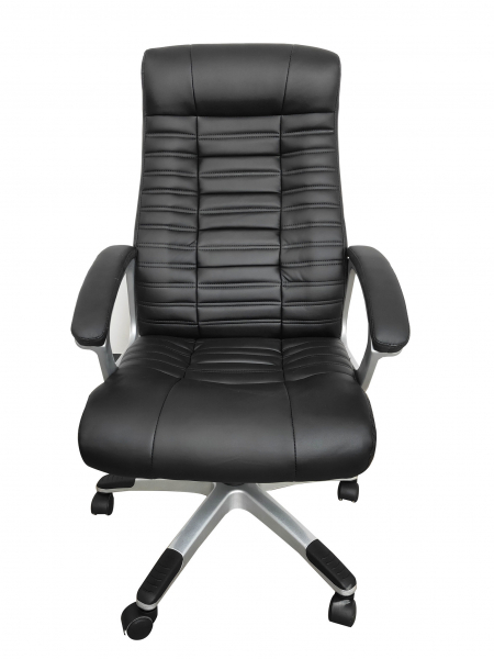 Scaun directorial ergonomic RISTO, PU, Negru 0