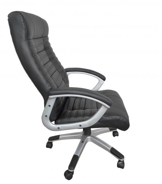 Scaun directorial ergonomic RISTO, PU, Negru 2