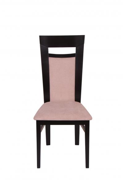 Set 2 scaune Amalfi, Lemn, Wenge/Misty beige [2]