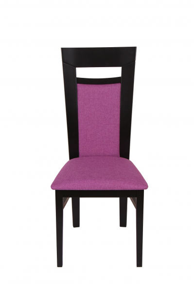 Set 2 scaune Amalfi, Lemn, Wenge/Savannah lilac 2
