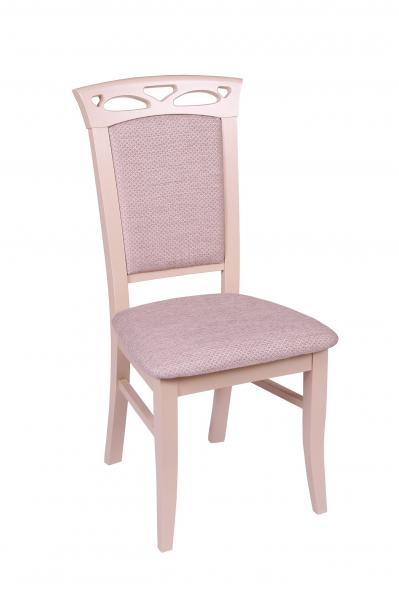 Set 2 scaune Fiona, Lemn, Beige/Regent plain 03 1