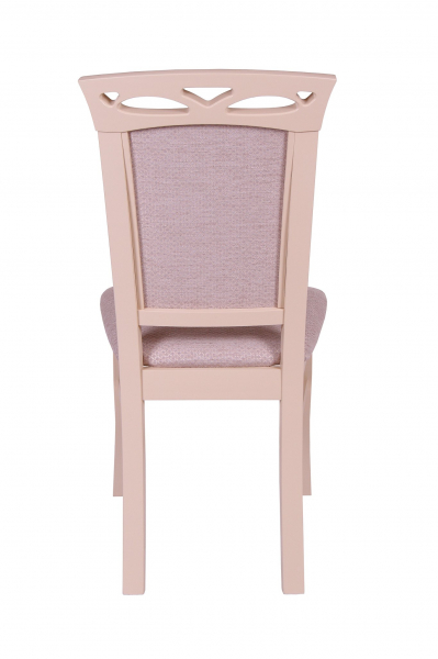 Set 2 scaune Fiona, Lemn, Beige/Regent plain 03 4