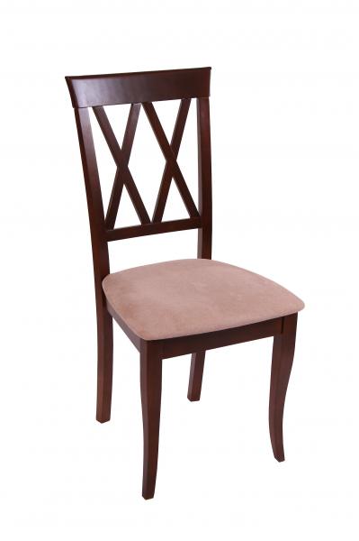 Set 2 scaune Milano, Lemn, Nut/Misty beige 1