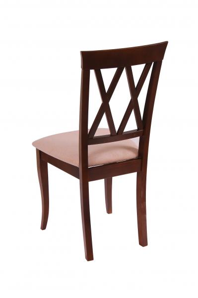 Set 2 scaune Milano, Lemn, Nut/Misty beige 2