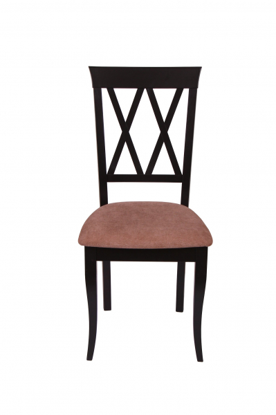 Set 2 scaune Milano, Lemn, Wenge/Misty light brown [2]