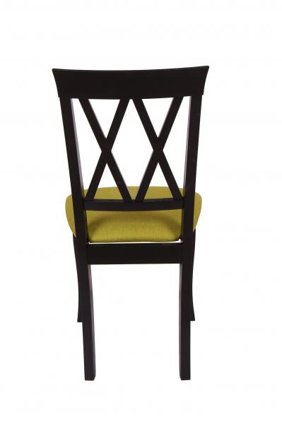 Set 2 scaune Milano, Lemn, Wenge/Savannah olive [4]