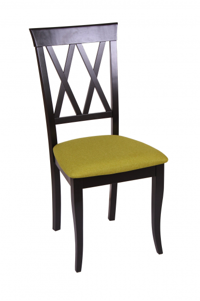 Set 2 scaune Milano, Lemn, Wenge/Savannah olive [1]