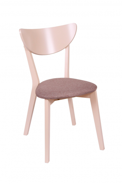 Set 2 scaune NEO, Lemn, Beige/Veles 6 1