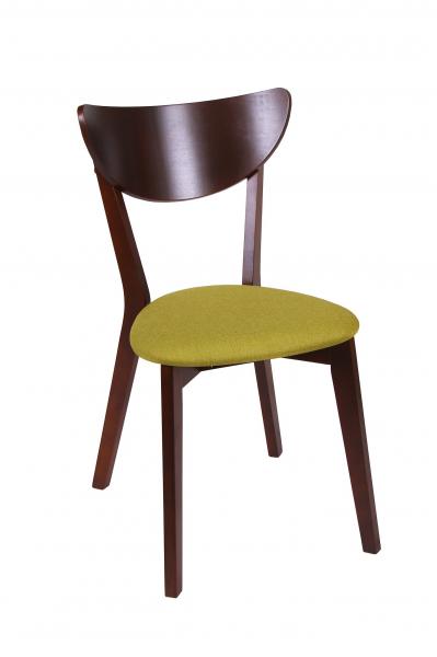 Set 2 scaune NEO, Lemn, Nut/Savannah olive [1]