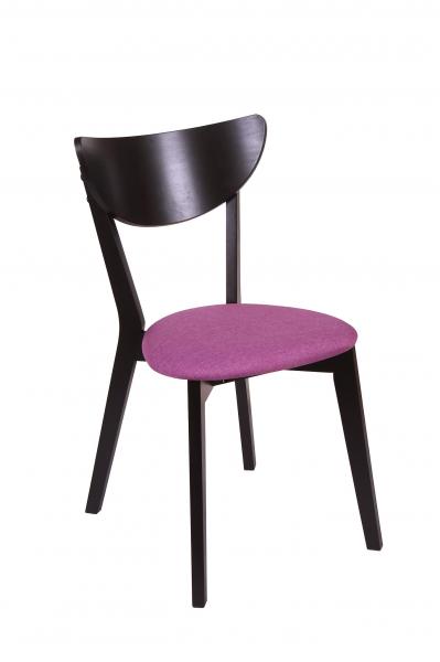 Set 2 scaune NEO, Lemn, Wenge/Savannah lilac 1