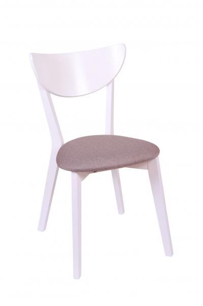 Set 2 scaune NEO, Lemn, White/Bonus New Cappucino [1]