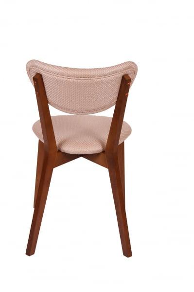 Set 2 scaune Neo M, Lemn, Walnut/Brighton Beige 4