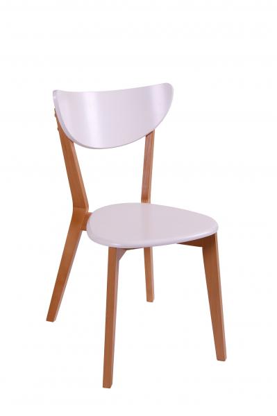 Set 2 scaune Neo T, Lemn, Beech/White [1]