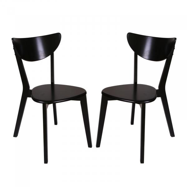 Set 2 scaune Neo T, Lemn, Wenge 0