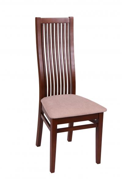 Set 2 scaune Puerto, Lemn, Nut/Misty beige [1]