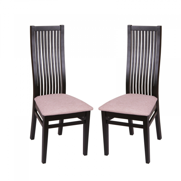 Set 2 scaune Puerto, Lemn, Wenge/Regent plain 03 [0]