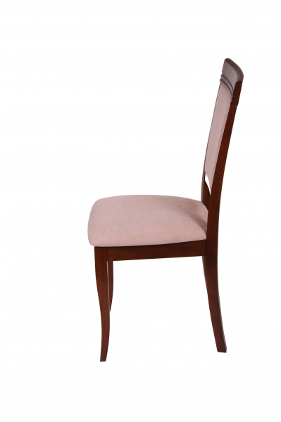 Set 2 scaune ROMA, Lemn, Nut/Misty beige [2]