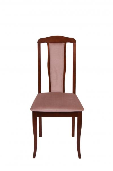Set 2 scaune  San Marino, Lemn, Nut/Aya nougat 2