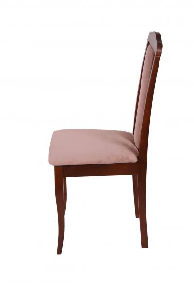 Set 2 scaune  San Marino, Lemn, Nut/Aya nougat 3