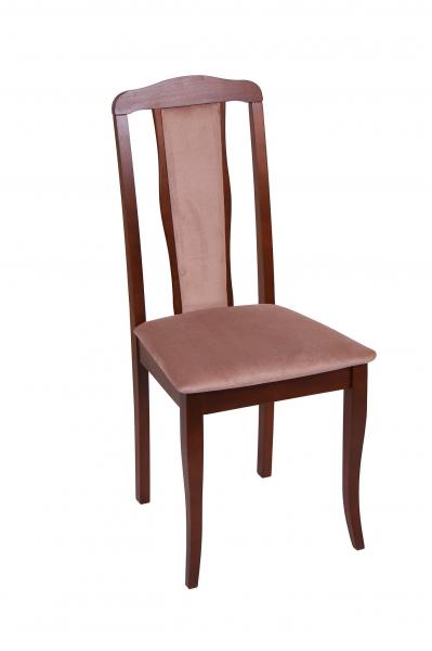 Set 2 scaune  San Marino, Lemn, Nut/Aya nougat 1