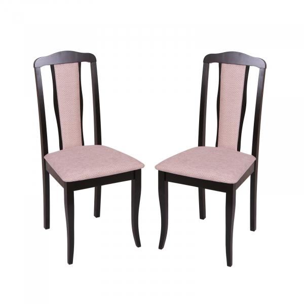 Set 2 scaune  San Marino, Lemn, Wenge/Regent plain 03 [0]