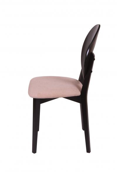 Set 2 scaune Star, Lemn, Wenge/Misty Beige [3]