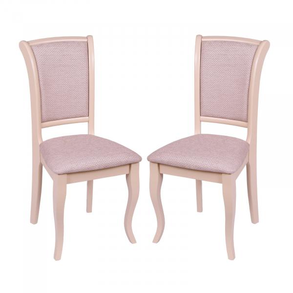 Set 2 scaune UNO, Lemn, Beige/Regent plain 03 [0]
