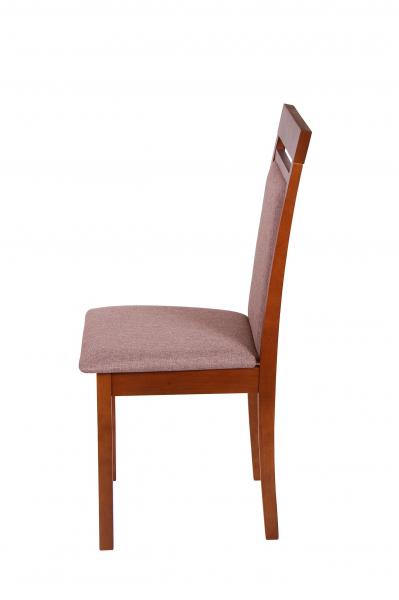 Set 2 scaune Wooden 2, Lemn, Walnut/Veles 6 3
