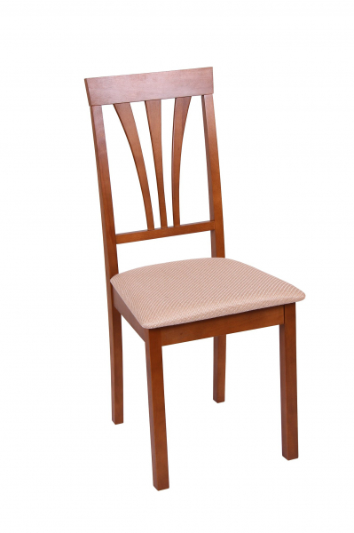 Set 2 scaune Wooden 7, Lemn, Walnut/Brighton Beige [1]