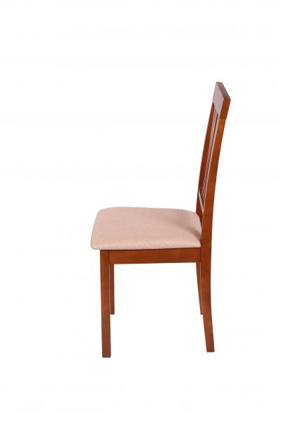 Set 2 scaune Wooden 7, Lemn, Walnut/Brighton Beige [3]