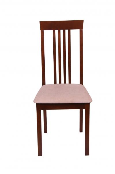 Set 2 scaune Wooden, Lemn, Nut/Misty beige 2