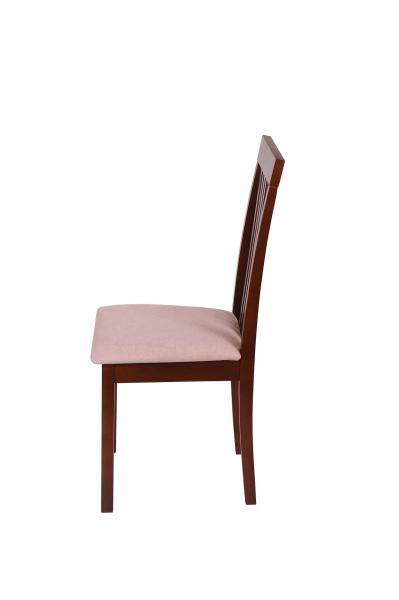 Set 2 scaune Wooden, Lemn, Nut/Misty beige 3