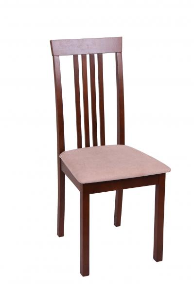 Set 2 scaune Wooden, Lemn, Nut/Misty beige 1